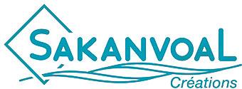 Logo Sakanvoal Creations l'élégance de la mer