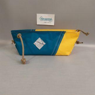 BERMUDES SKV Turquoise et jaune