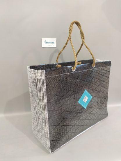 Grand sac cabas marin FASTNET noir zz